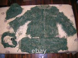 China Pla Army Sniper Woodland Camouflage Combat Vêtements, Pantalon, Chapeau, Ceinture, Ensemble