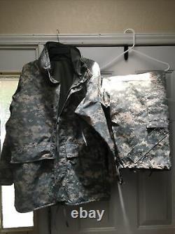 Cold Weather Parka Universal Camouflage Set Taille Moyen Haut Régulier Pantalons M/s