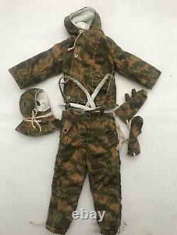 DID Figure 12 Pouces 1/6 Seconde Guerre Mondiale Allemand Hans Ebner Camouflage Ensemble D'hiver