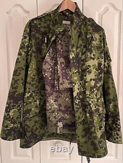 Danois M84 Ensemble D'uniforme Camouflage- Veste, Pantalon, Cap-hmak -flektarn