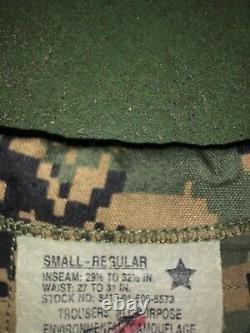 Digital Marpat Camouflage Gortex Parka Marine Corps Woodland Set Small Regular