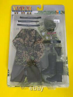 Dragon 16 Scale Uniform Set Wwii German Elite Officer Camouflage Smoek Set Mib