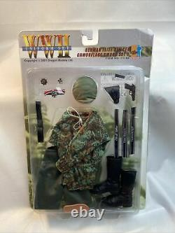 Dragon Ww2 Uniforme Officier D'élite Allemand Camouflage Smock Set 1 Sealed & Mint