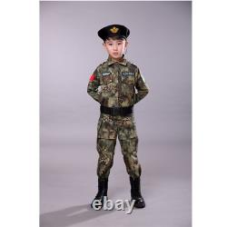 Enfants Costumes Tactiques Militaires Camouflage Costumes D'entraînement De Plein Air