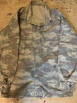 Ensemble D'uniforme De Camouflage Numérique De L'armée Turque