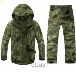 Ensemble D'uniformes Militaires Pantalons Tactiques Et Veste À Capuche Airsoft Army Suit Combat