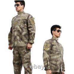 Ensemble D'uniformes Militaires Pantalons Tactiques Et Vêtements De Chemise Airsoft Army Suit Combat