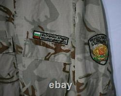 Ensemble De Camouflage Du Désert Des Forces Armées Bulgares