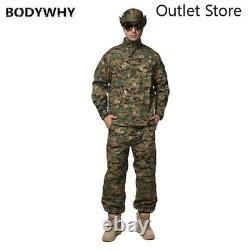 Ensemble De Vêtements Tactiques De Camouflage D'armée D'homme D'uniforme Militaire D'hommes