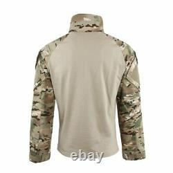 Ensemble Tactique D'uniforme De Combat Militaire Hommes Pantalon De Camouflage De L'armée De Terre