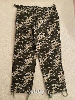 Ensemble Uniforme Camouflage De Garde-frontières Ukraniens Veste, Pantalons