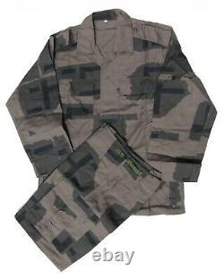 Ensemble Urbain T-pattern Camouflage Edr Taille Moyenne