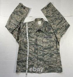 Ensemble Us Air Force Mens Camouflage Coat & Pants Utility Uniform 46r, 36s