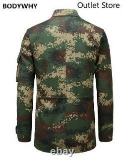 Ensembles De Vêtements D'entraînement Camouflage En Manteau D'uniforme Tactique Militaire