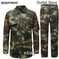 Ensembles Militaires Tactiques D'entraînement De Camouflage De Manteau De Camouflage De Manteau