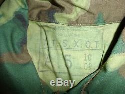Erdl-3 Rvn Vietnamienne Airborne Camouflage, Uniforme L 46j 36t W13e