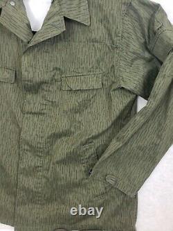 Est-allemand Sg 56 Uniforme Camouflage Camo Rain Tunic Pantalon Suspenders Set
