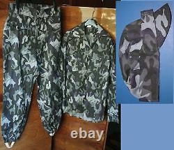 Été Camouflage Urbain Ensemble Uniforme Gendarme M1990 Armée Roumaine Camo Rrr