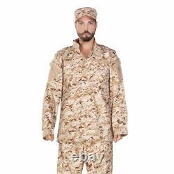 Fatigues Military Camo Uniforme Vintage Army Ripstop Tactical Cargo Jacket, Pantalon