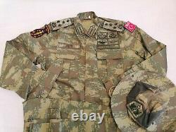 Générals De L'armée Turque Camouflage Numérique Bdu Camo Ensemble Uniforme