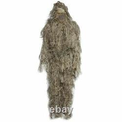 Ghillie Suit Cs Camouflage Suits Set 3d Bionic Leaf Hunting Disguise Uniform Sni