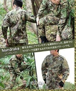 Gun Freak Camouflage Uniforme Ensemble Supérieur Et Inférieur Veste Edr Pantalon Savag Militaire
