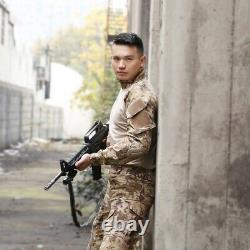Homme Armée Combat Chemise Pantalon Costume Airsoft Bdu Uniforme Tactique Force Spéciale