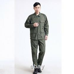 Homme Armée Tactique Militaire Uniforme Camouflage Print Combat Hunting Army Suit