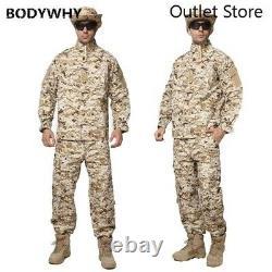 Hommes Militar Uniforme Tactique Militaire De Combat Extérieur Camouflage Vêtements Spéciaux