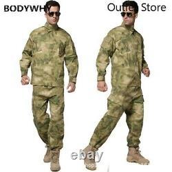 Hommes Militar Uniforme Tactique Militaire Outdoor Combat Camouflage Vêtements Spéciaux
