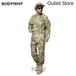 Hommes Uniforme Militaire Chemise Homme Armée Tactique Camouflage Ensemble De Vêtements