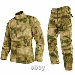 Hommes Uniformes Militaires Veste Et Pantalon De Combat Camouflage Multicam Costumes Nouveau Jeu