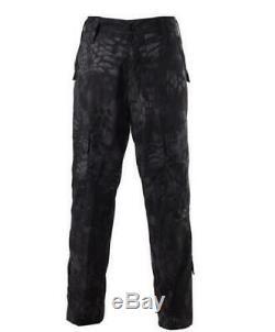 Hommes Veste Pantalon Costume Manteau Militaire Tactique Pantalon Combat Uniform Extérieur Set