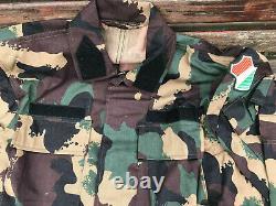 Hongrois 4 Couleurs Camo Camouflage Uniform Set New M2000 Hongrie Combat Bdu