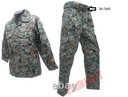 Japon Air Self Defense Force Digital Camouflage Vêtements Ensemble Camo Taille M Pas De Ceinture