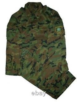 Jeu De Camouflage Bois Kazakstan Armée Taille 52-3
