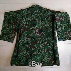 Jgsdf Camouflage Costume Haut Et Costume Sac Jambe Chapeau De Jeu De Survie De Combat Jeu Fond