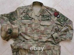 L'armée Turque Specs Nco Digital Camouflage Bdu Camo Set Uniforme