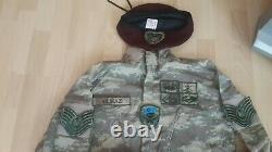L'armée Turque Specs Véritable Uniforme De Camouflage Nco Ensemble 48 Camo Bdu1