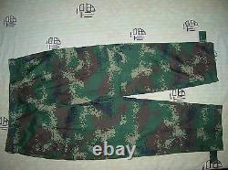 La Série 07 Chine Pla 2ème Sous-officier D'artillerie Numérique Camouflage Combat Vêtements, Set