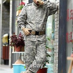 Les Hommes De Camouflage Militaires Ensembles Costume Uniforme Armée Veste Pantalon Tactique Extérieur