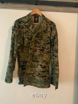 Marine Corps Usmc Marpat Camouflage Numérique Woodland Camouflage (cammie) Ensemble Mr