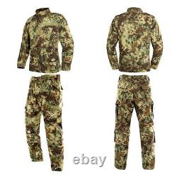 Men Army Military Uniform Acu Tactical Special Forces Camouflage Soldier Clothes
