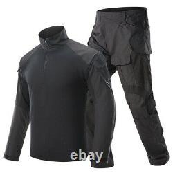 Mens Airsoft Tactical Gen3 Combat T-shirt Pantalons Forces Spéciales Uniforme Edr Camo