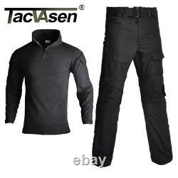 Mens D'entraînement Tactique De Camouflage T-shirt Et Pantalon G2 Cs Air Soft Amy Ensembles D'uniformes