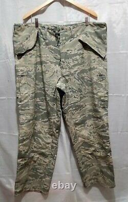 Militaire Tout Usage Camouflage Environnemental 2 Pcs Set Parka Pantalon À Capuche Nwo/t