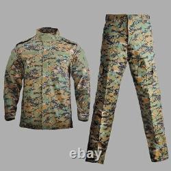 Militaire Uniforme Camouflage Combat Airsoft Pantalon Veste Tactique Ensemble Acu Cp