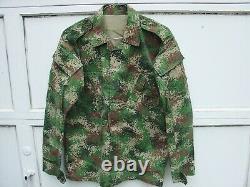 Modern Columbian Army Military Bdu Nato Digital Camo Camouflage Uniform Set (gb)