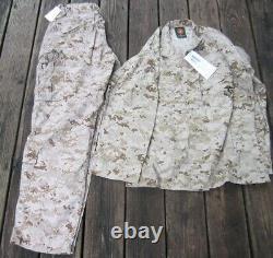 Nouveau Set Marine Corps Marpat Camouflage Numérique Med Pantalon Régulier Chemise Usmc