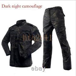 Nouveaux Ensembles Tactiques Militaires Vestes Et Pantalons D'uniforme De Combat De La Force Spéciale